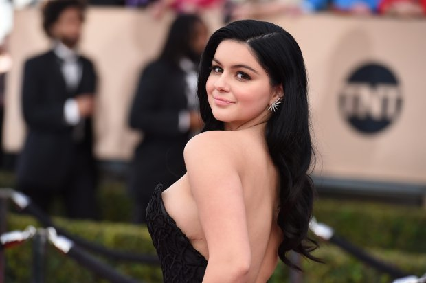 Ariel Winter arrives at the 22nd annual Screen Actors Guild Awards at the Shrine Auditorium & Expo Hall on Saturday, Jan. 30, 2016, in Los Angeles. (Photo by Jordan Strauss/Invision/AP)