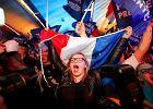 Wybory we Francji. Tak się cieszą tylko zwycięzcy. U zwolenników Marine Le Pen euforia