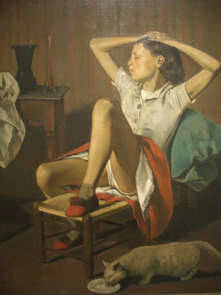 Balthus, Therese Dreaming, 1938, Metropolitan Museum of Art / Eliazar Parra Cardenas / flickr.com