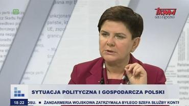 Beata Szydło w TV Trwam
