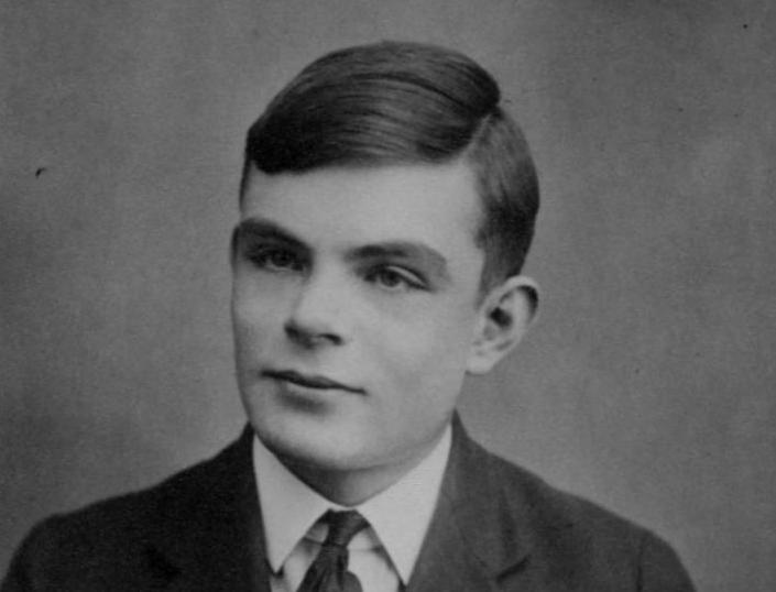 Alan Turing w wieku 16 lat