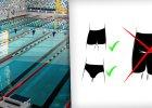 Dlaczego w Polsce tyle basenów zakazuje pływania w szortach? Za granicą to często norma