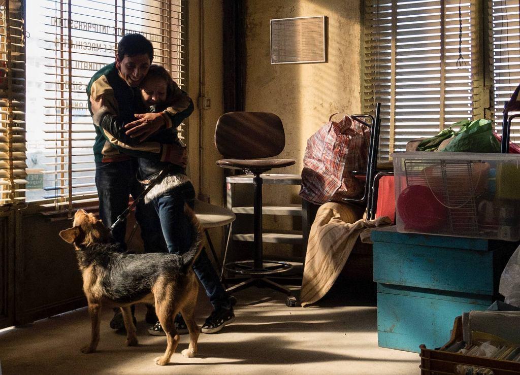 Marcello Fonte w filmie 'Dogman', reż. Matteo Garrone / M2 Films