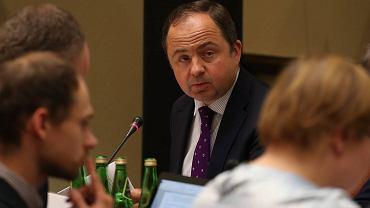 Podsekretarz Stanu w MSZ Konrad Szymański