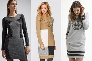 bbdab511a3 Sukienki dresowe - wygodne ubranie na co dzień