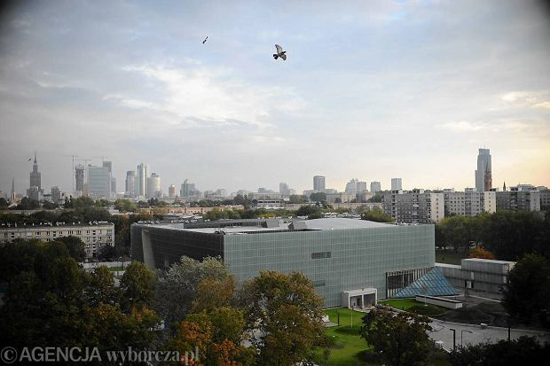 27.09.2012 WARSZAWA , MUZEUM HISTORII ZYDOW POLSKICH . FOT. ADAM STEPIEN / AGENCJA GAZETA