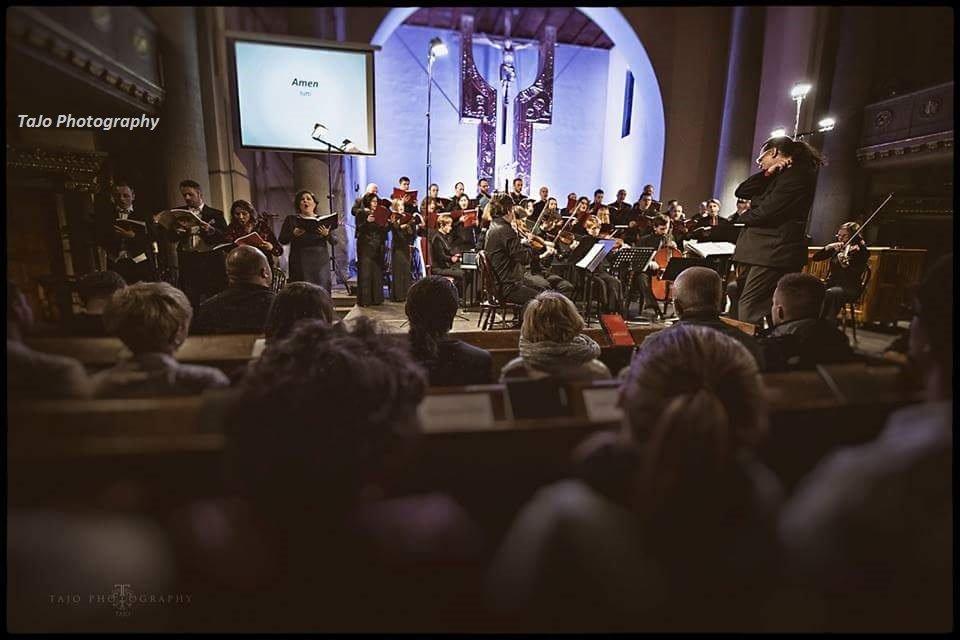Zdjęcie numer 3 w galerii - Pasja według św. Jana. Wielki koncert w kościele Zbawiciela
