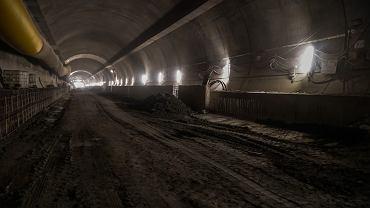 Budowa nowej zakopianki. Firma Astaldi drąży tunel pod Małym Luboniem.