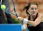 Turniej WTA w Katowicach. Radwa�ska: Mestach zaskoczy�a mnie r�wn� gr�