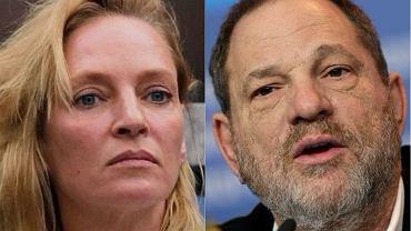 Uma Thurman i Harvey Weinstein