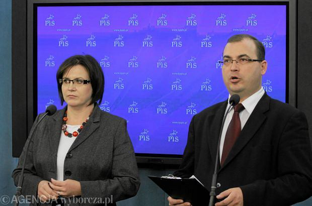 Małgorzata Sadurska i Andrzej Jaworski