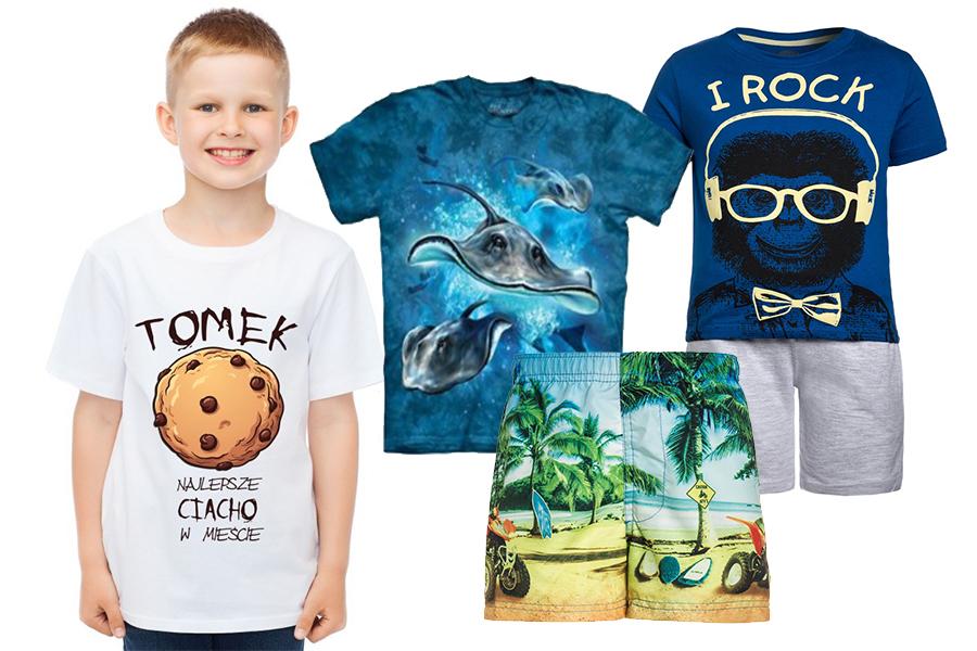 Wygodne ubranka dla chłopców