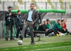 Lechia - Górnik Łęczna 2:0. Trener Lechii Jerzy Brzęczek