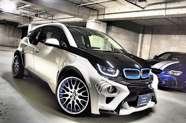 bmw i3 evo pierwszy tuning. Black Bedroom Furniture Sets. Home Design Ideas