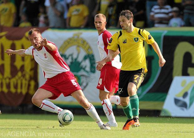 Jacek Kuklis, były piłkarz ŁKS Łódź, bliski przejścia do Zawiszy Rzgów.