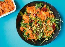 Sałatka z łososiową marchewką - ugotuj