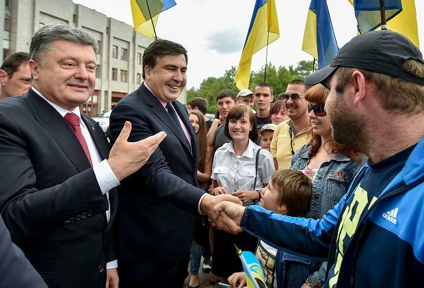 Prezydent Petro Poroszenko pozbawił Micheila Saakaszwilego ukraińskiego obywatelstwa