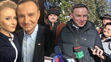 Andrzej Duda podczas kampanii