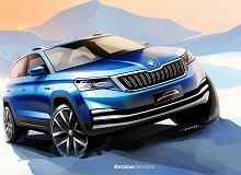 Skoda Kamiq - nowy SUV Skody na pierwszych oficjalnych szkicach