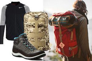 Buty trekkingowe, plecaki i kurtki z wyprzedaży - sprzęt do pieszych wędrówek kupisz teraz znacznie taniej