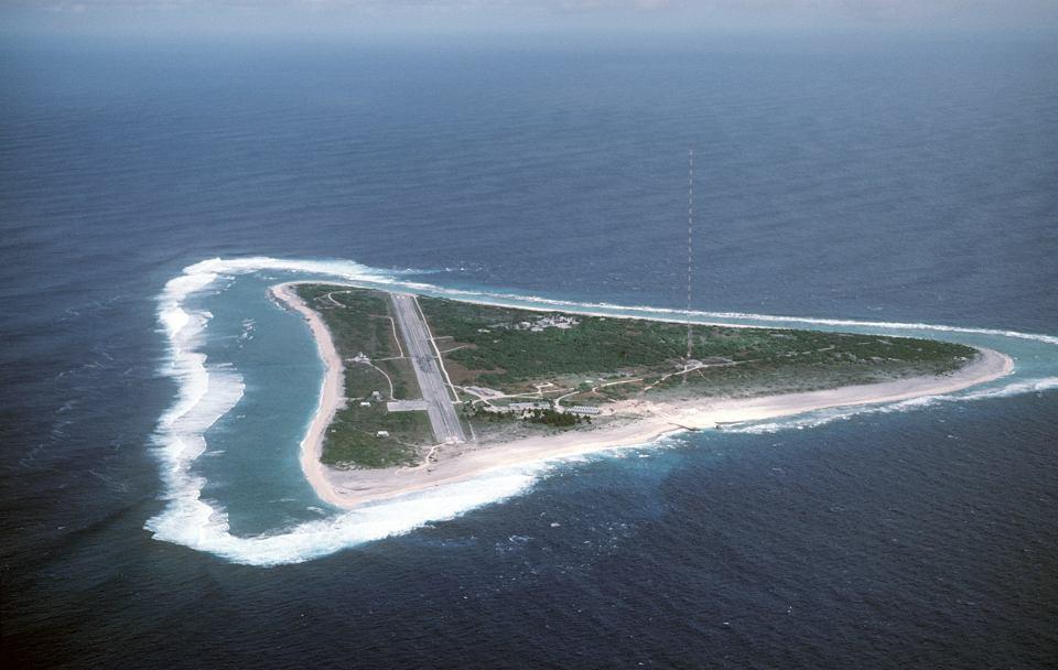 Najdalej wysunięty na wschód skrawek japońskiego lądu - wyspa Minamitori