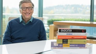 Bill Gates prezentuje swoje ulubione lektury