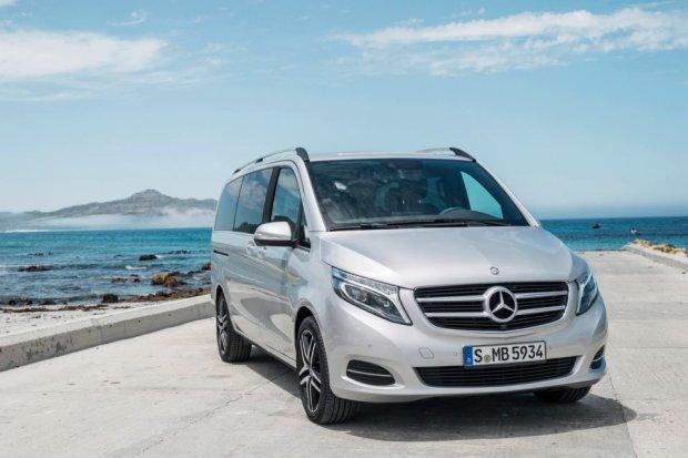 Mercedes klasy V | Prezentacja modelu