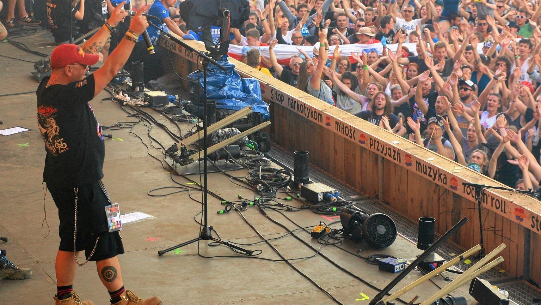 Jurek Owsiak na Przystanku Woodstock