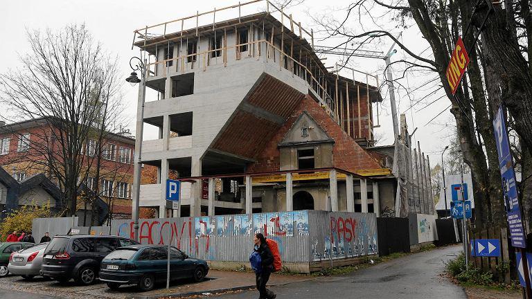 Przebudowa willi w Zakopanem