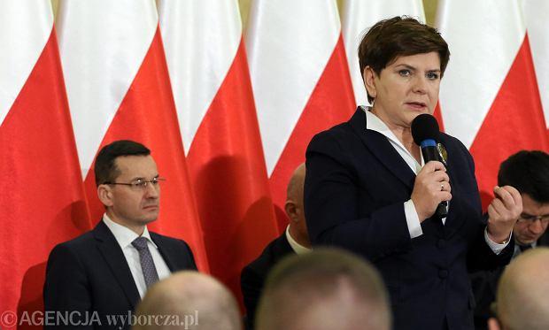 Premier Beata Szyd�o pojedzie na debat� do Parlamentu Europejskiego