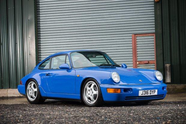 Aukcje | Porsche 911 964 RS N/GT | Gwiazda Silverstone