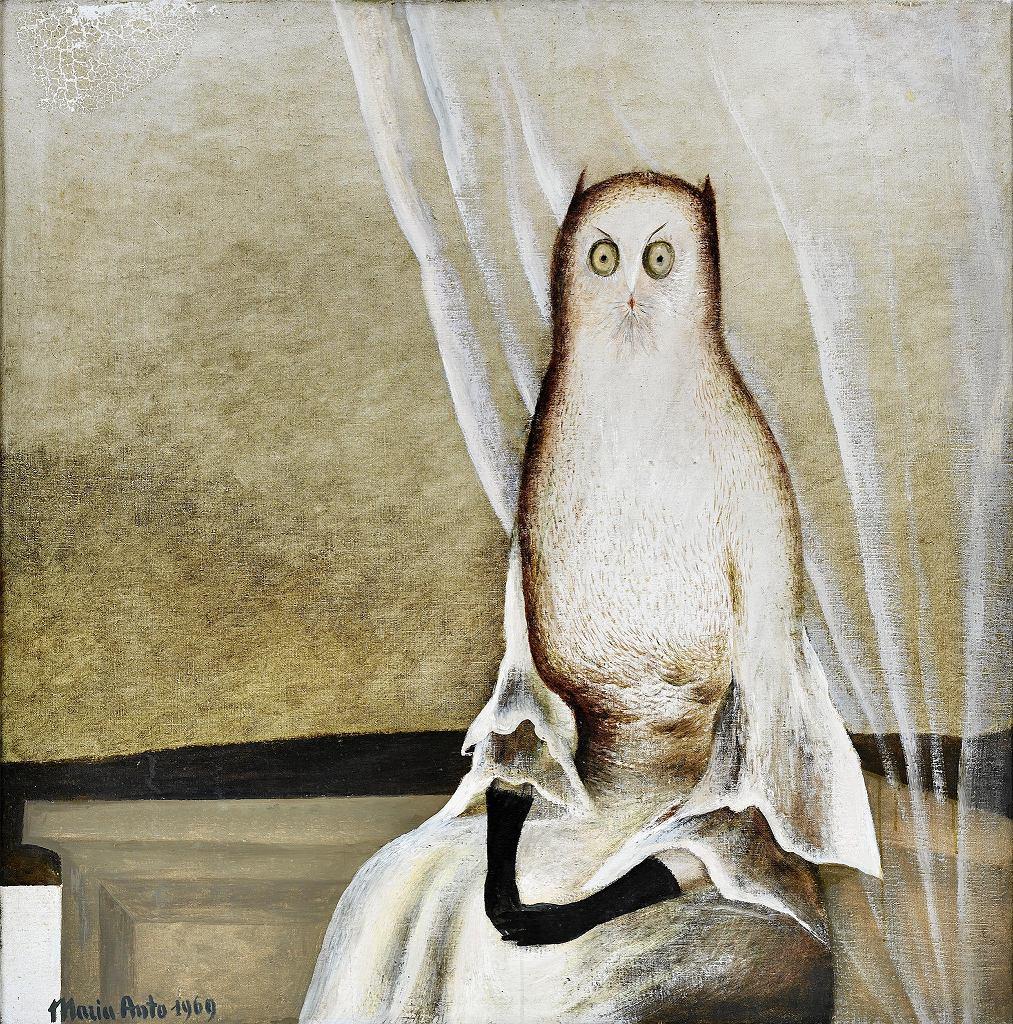 Maria Anto, Sowa, 1969, wł. prywatna / MAREK KRZYZANEK
