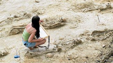 Wykopaliska archeologiczne, zdj. ilustracyjne