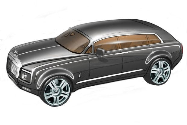 Rolls-Royce oficjalnie zapowiedzia� crossovera
