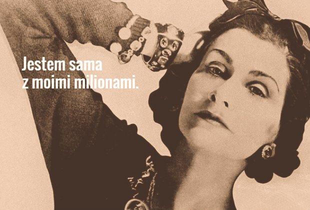 Coco Chanel: 10 najlepszych cytat�w legendarnej projektantki