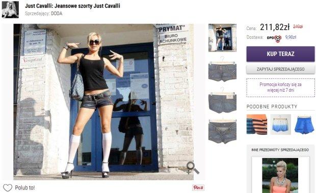 Doda sprzedaje swoje ubrania