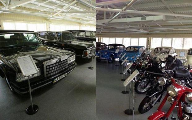 Imponująca kolekcja aut Wiktora Janukowycza.