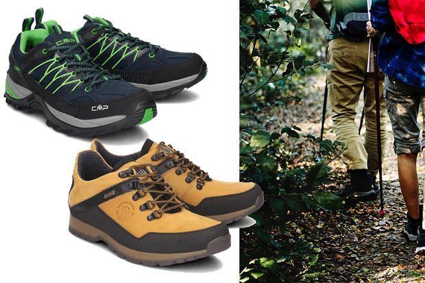 Buty trekkingowe i sportowe na nordic walking