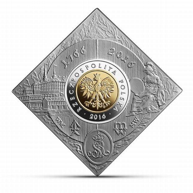 Kwadratowe 5 zł. Kolekcjonerska moneta na 250. urodziny Mennicy Warszawskiej