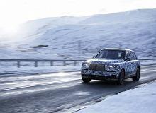 Rolls-Royce Cullinan - nadchodzi ultralukususowy SUV