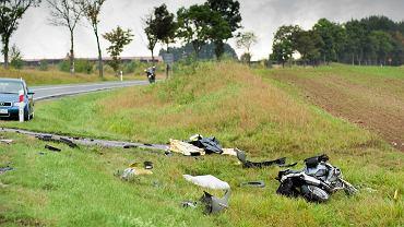 Wypadek/zdjęcie ilustracyjne
