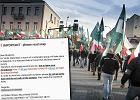 """Politechnika Białostocka ostrzega zagranicznych studentów przed ONR-em. """"Nie opuszczajcie pokojów"""""""