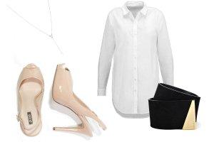 Długa biała koszula - jak ją nosić?
