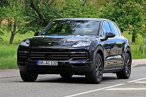 Nowe Porsche Cayenne bez kamuflażu