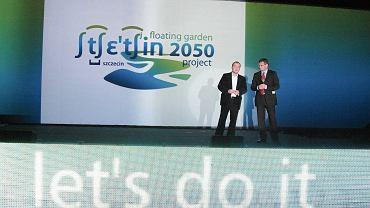 Prezentacja marki Szczecin Floating Garden w kwietniu 2008 r.