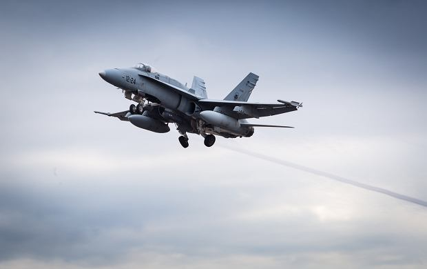 Zamieszanie nad Bałtykiem. Hiszpańskie myśliwce goniąc MIG-i naruszyły przestrzeń Finlandii