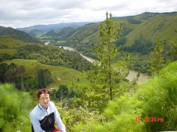 Rzeka Wanganui - Wyspa Północna