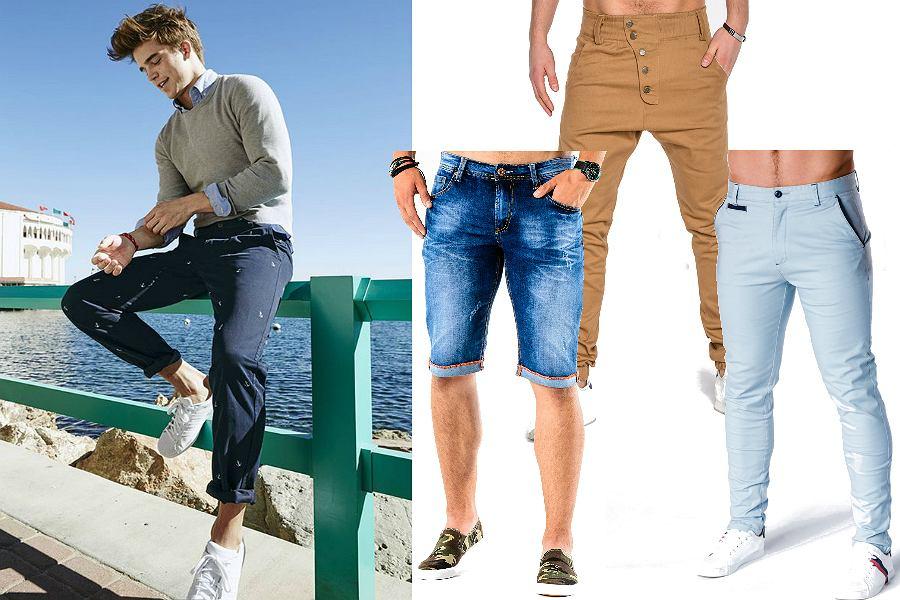Spodnie męskie na wiosnę i lato