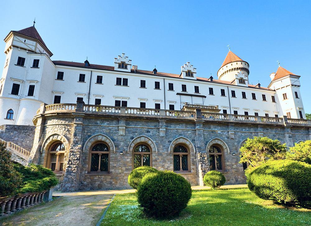 Czechy zamki - Konopiste / Shutterstock