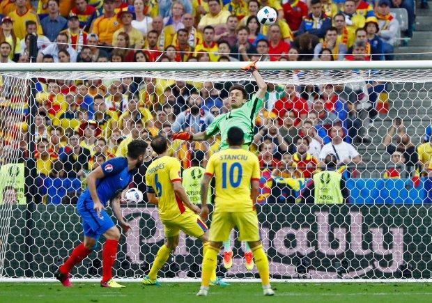 Francja-Rumunia 2:1. Mecz otwarcia pe�en emocji. Co za gol Payeta!